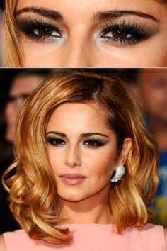 Cheryl Cole - Dramatic Eyes - Beauty - eyes - celebrity - marie claire - marie claire uk