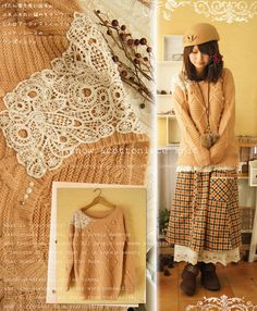 Knit with Lace, Cute!
