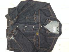 Original 1980 Quiksilver jacket in black demin