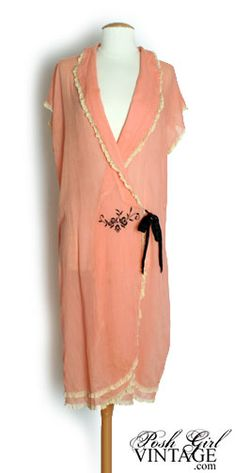 Vintage Dressing Gown, 1920's