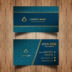 Black Business Card, Vertical Business Cards, Business Card Psd, Professional Business Card Design, Luxury Business Cards, Free Business Card Templates, Modern Business Cards, Invitation Floral, Mubarak Ramadan