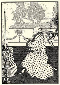 The Baron's Prayer - Beardsley Aubrey