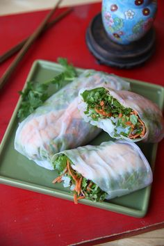Restaurant-Style Asian Spring Rolls/dcc