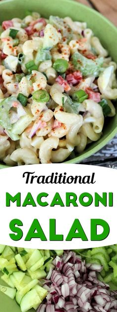 Traditional Macaroni Salad Recipe