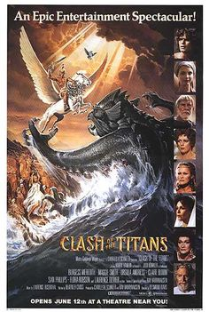"""Clash of the Titans (1981) PG* - """"Release the Kracken!"""""""