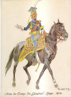 ADC del generale Rapp 1814