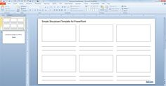 Storyboard templates language learning pinterest storyboard interactive storyboards free simple storyboard template for powerpoint maxwellsz