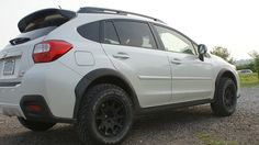 Method Rally Wheels on 14 XV Crosstrek 05 Outback XT 11 FXT & 99 OBS  If you all were wondering about Method Race Wheels new Subaru Rally Team Designed 15x7 +15 5-100 Rally wheel, here is it mounted on a couple vehicles!!  Here is a 2014 XV Crosstrek 100% stock with 225/70R15 General Grabber AT2's