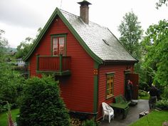 Small Summer Cabin in Norway - http://www.tinyhouseliving.com/small-summer-cabin-norway/ . https://www.pinterest.com/taoscindy/scandia/