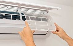 6 Air Conditioner Maintenance Tasks That Aren't Up for Negotiation The hot weather is here! Air conditioning is a must! Maintenance is key.read this and hopefully stay cool this summer! Split Ac, True Homes, Air Conditioning System, Ares, Real Estate Tips, Klimt, Home Improvement, Cool Stuff, Air Conditioners