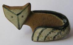 Lisa Larson Fox Scandinavian Pottery