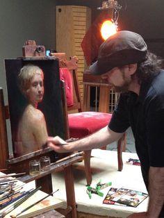 ~`✯`~StevenAssael Painter Artist, Artist At Work, Oil Paintings, Art Tutorials, Acrylics, Art Lessons, Faces, Portraits, Inspire