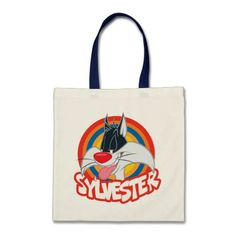 Sylvester Icon. Producto disponible en tienda Zazzle. Accesorios, moda. Product available in Zazzle store. Fashion Accessories. Regalos, Gifts. #bolso #bag #LooneyTunes