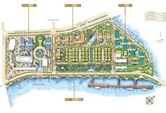 Vinhomes Golden River is divided into 4 zones:  1. The Front : 3 condominiums referred to as F1 , F2 , F3 . 2. The Luxury : 6 condominiums referred to as L1 , L2 , L3 , L4 , L5 , L6 3. The Aqua : 4 condominiums referred to as A1 , A2 , A3 , A4 4. The Victoria : 63 villas .