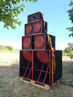 Red Land Sound System - Rubí, Barcelona - Catalunya. Projects To Try, Kili, Speakers, Caribbean, Centre, Barcelona, Wings, Audio, Urban