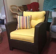 Brown Outdoor Wicker Chair - ProductGram