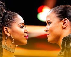 Bianca Belair vs Shayna Baszler for NXT Women Champion Shayna Baszler, Diamond Earrings, Drop Earrings, Wwe, Evolution, Champion, Fashion, Moda, Fashion Styles