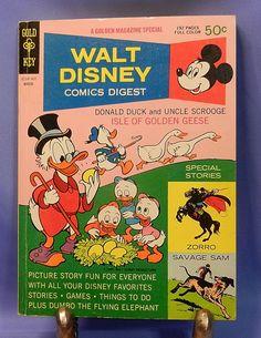 Vintage Walt Disney Comics Digest-
