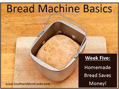 KITCHEN TIPS: SAVING MONEY ON BREAD