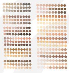 Hex Color Palette, Palette Art, Paint Color Palettes, Skin Color Chart, Color Mixing Chart, Colors For Skin Tone, Color Tones, Skin Color Palette, Color Palette Challenge