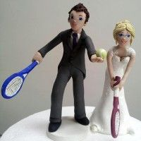 Top 9 Funny and Unique Sport Wedding Cake Toppers Funny Cake Toppers, Wedding Cake Toppers, Wedding Cakes, Perfect Wedding, Dream Wedding, Wedding Day, Dummy Cake, Sports Wedding, Sport Cakes