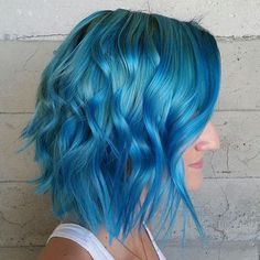 "Butterfly Loft Salon no Instagram: ""Blue Angel... By Butterfly Loft stylist Masey."""