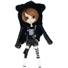 "Pullip Dolls Isul NekoNeko MaoMao 12"" Fashion Doll Accessory -- Click image for more details. (This is an affiliate link) #DollsAccessories"