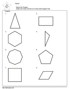 math worksheet : 2nd grade math teach the kids polygons with these nifty  : 5th Grade Geometry Worksheets Polygons