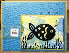 YCDI15 SC432- Fish Card