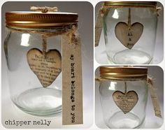 Chipper Nelly Jars for Valentines day