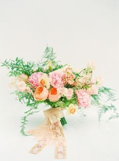Want a Pastel Colored Bouquet? Steal the Look!