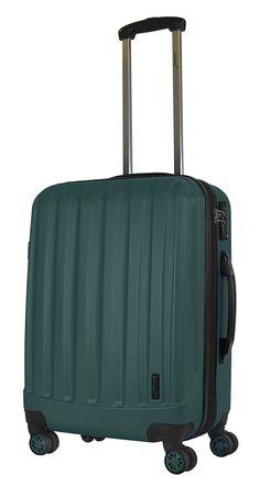 Packenger Koffer Velvet L Dunkelgrün