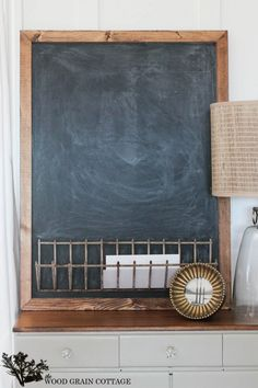 Chalkboard Organizer by The Wood Grain Cottage-3