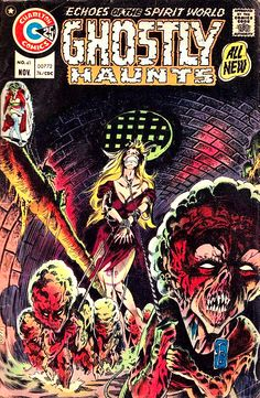 One Of The Most Haunting Comic Book Covers Of All Time! - Ghostly Haunts Cover Art by Tom Sutton