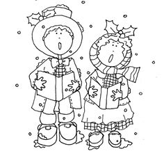 Kuvahaun Tulos Haulle Christmas Music Coloring Pages