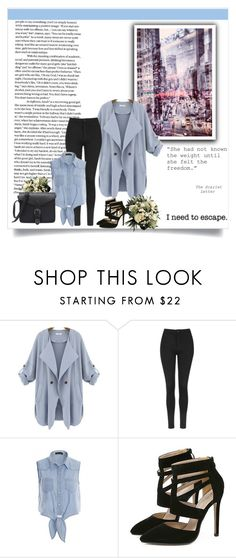 """""""Freedom"""" by takemetothecookies ❤ liked on Polyvore featuring Topshop and Möve"""