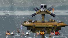 Epic 4 Player Ryu Fight - Smash Bros Wii U - 4K 60fps - Capture Test - E...