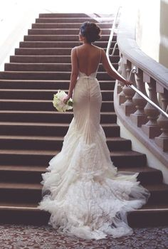 backless wedding dresses best photos - wedding dresses  - cuteweddingideas.com