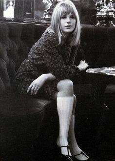 theyroaredvintage:   Marianne Faithfull, 1960s. - Scraaaaaaaaaaaaaaaaaaaaaaaaaaaaaaaaaaaaaaaaap