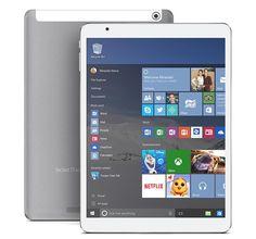 """TECLAST X98 Pro 9.7"""" Retina Screen Windows 10 Intel Z8500 Quad-core 4GB 64GB Tablet PC http://www.tinydeal.com/it/teclast-x98-pro-97-win10-z8500-4gb-64gb-tablet-pc-w-bluetooth-p-155607.html"""