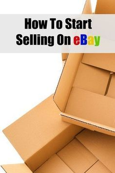 How To Start Selling On eBay - tips and tricks for learning to sell on eBay and… Ways To Save Money, Money Tips, How To Make Money, Selling Online, Selling On Ebay, Saving Tips, Saving Money, Buying A Condo, Newborn Toys