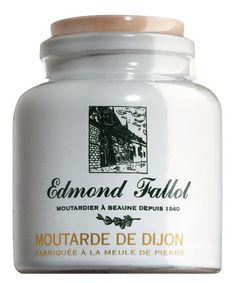 Moutarde de Dijon, fein, im Steintopf