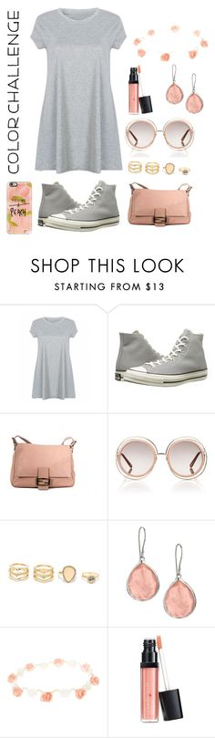 """""""Shopping Day Pt. 2"""" by kirstenhyder ❤ liked on Polyvore featuring interior, interiors, interior design, home, home decor, interior decorating, Converse, Fendi, Chloé and LULUS"""