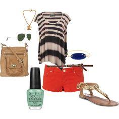 Summer errands outfit..