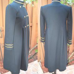 Hey, I found this really awesome Etsy listing at https://www.etsy.com/listing/201134501/vintage-80s-black-wool-victorian