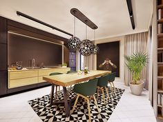 Family friendly home packed with modern decor ideas & home design features for different rooms. Find storage ideas, new furniture styles and colour combinations Furniture Styles, New Furniture, Flat Interior, Interior Design, Skyfall, Cupboard Design, Apartment Design, Contemporary Interior, Modern Decor