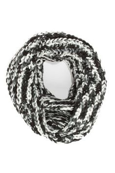 Day at the Bay White and Black Circle Scarf at LuLus.com! I actually have SO many scarfs but LOVE this one!!