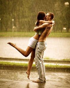 in the rain.... please now.