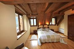 Rural house located in the Aran Valley. Ideal to enjoy as a couple. rnrnSource by casaspain Villas, Rural House, Couples, Bed, Room, Spain, Furniture, Home Decor, Apartments