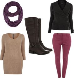 How to wear the latest knee high boots from Evans - www.evans.co.uk
